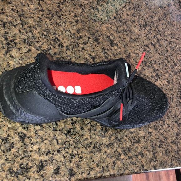 size 40 2ef10 3f7d6 Adidas Ultra Boost 4.0 Triple Black Nubuck Cage